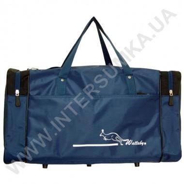 Заказать сумка спортивная Wallaby 340 синяя с черными вставками
