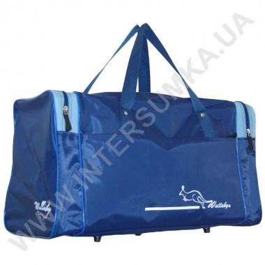 Заказать сумка спортивная Wallaby 340 синяя с голубыми вставками в Intersumka.ua