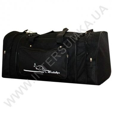 Заказать сумка спортивная с расширением Wallaby 365 черная с черной отделкой
