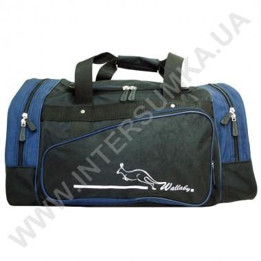 Заказать сумка спортивная Wallaby 371 черно-синяя