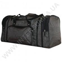 сумка спортивная с расширением Wallaby 375 хаки с черными вставками из жатки