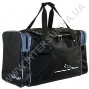 Купить сумка спортивная Wallaby 430 черная с серыми вставками