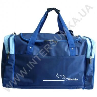 Заказать сумка спортивная Wallaby 430 синяя с голубыми вставками в Intersumka.ua