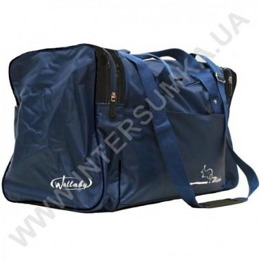 Заказать сумка спортивная Wallaby 430 синяя с черными вставками