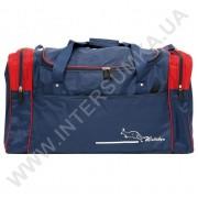 Купить сумка спортивная Wallaby 430 синяя c красными вставками