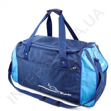 Заказать сумка спортивная Wallaby 447 голубая с синими вставками в Intersumka.ua