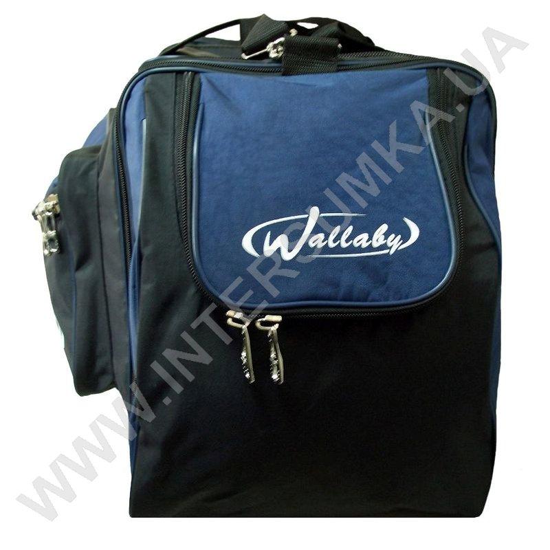 ... Купить сумка спортивна з розширенням Wallaby 475 сіра зі світло-сірими  вставками ... cafa4eb7ea715