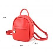 Женский рюкзак из натуральной кожи Borsacomoda 835031