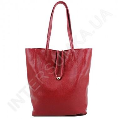 Заказать Женская сумка - ШОППЕР из натуральной кожи borsacomoda 845022 в Intersumka.ua