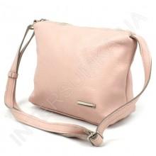 Сумка женская из натуральной кожи borsacomoda 81016 светло - розовая