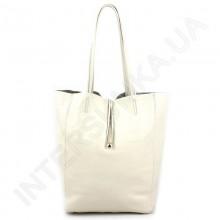 Жіноча сумка - шоппера з натуральної шкіри borsacomoda 845027