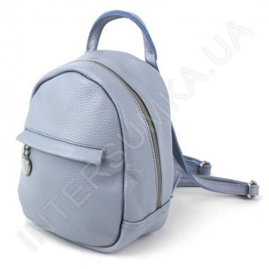 Заказать Женский рюкзак из натуральной кожи Borsacomoda 835017_blue в Intersumka.ua