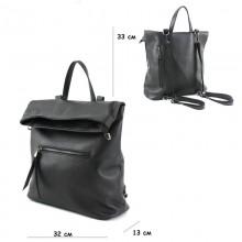 Женский рюкзак из натуральной кожи Borsacomoda 817023