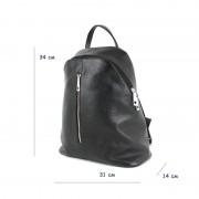Женский рюкзак из натуральной кожи Borsacomoda 841023