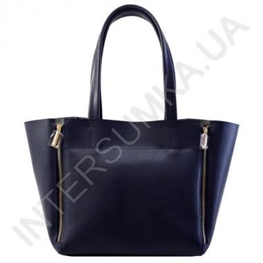 Заказать Сумка женская Wallaby 65994487 экокожа синяя с серыми вставками