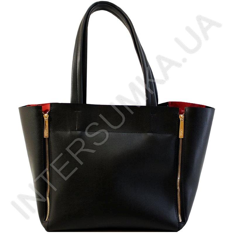 Сумка жіноча Wallaby 65995482 екокожа чорна стильна зручна справжня ... 56d7b7a4a3285