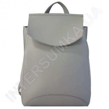 Купить Женский рюкзак Wallaby 174488 серый ЭКОКОЖА
