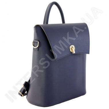 Заказать Жіночий рюкзак Wallaby 503481сіній Екокожа