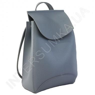 Заказать Женский рюкзак Wallaby 174313 темно-серый ЭКОКОЖА