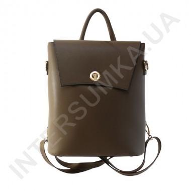 Замовити Жіночий рюкзак Wallaby 503489 коричневий Екокожа в Intersumka.ua