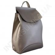 Женский рюкзак Wallaby 174483 бронзовый ЭКОКОЖА