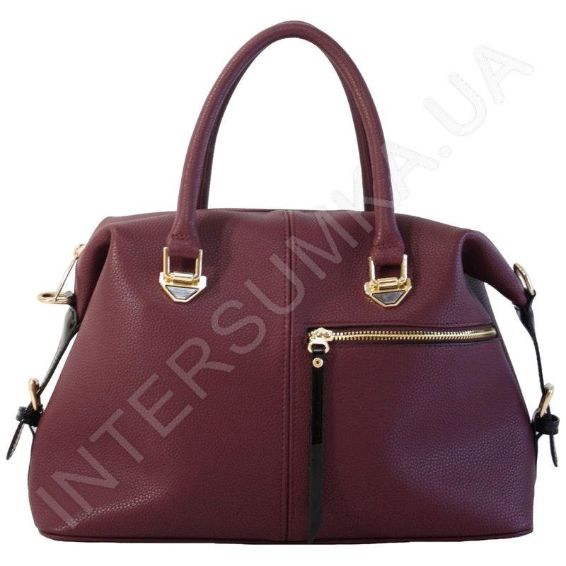 861662445fe1 Женская сумка Voila 507721172239, бордовая (марсала) с передним ...