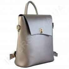 Женский рюкзак Wallaby 503483 бронзовый ЭКОКОЖА