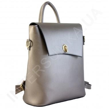 Заказать Женский рюкзак Wallaby 503483 бронзовый ЭКОКОЖА в Intersumka.ua