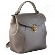 Женский рюкзак Wallaby 555483 бронзовый ЭКОКОЖА