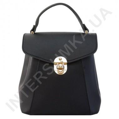Замовити Женский рюкзак Voila 555486 черный ЭКОКОЖА в Intersumka.ua