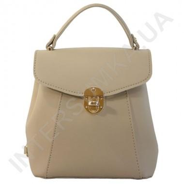 Заказать Женский рюкзак Wallaby 555490 бежевый ЭКОКОЖА