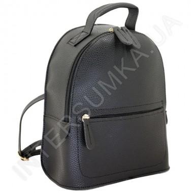 Замовити Жіночий рюкзак Voila 182312171 чорний Екокожа в Intersumka.ua