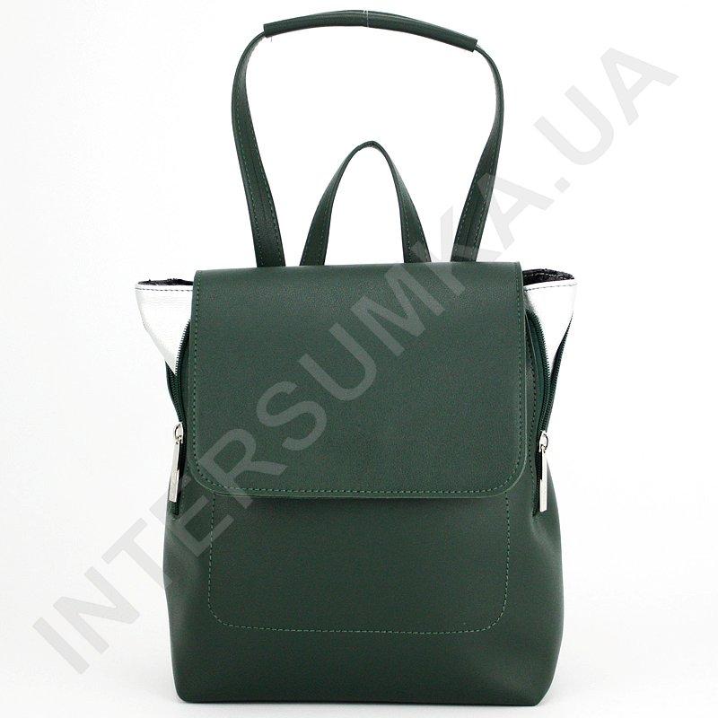 3cad7e8d72b4 Женский рюкзак Voila 16252415 зеленый стильный удобный из экокожи ...