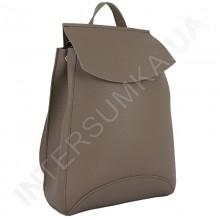 Женский рюкзак Wallaby 174316 бежевый ЭКОКОЖА