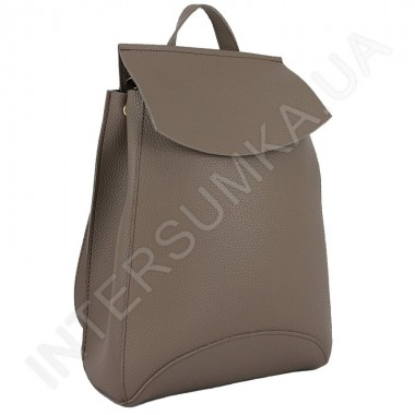 Заказать Женский рюкзак Wallaby 174316 бежевый ЭКОКОЖА