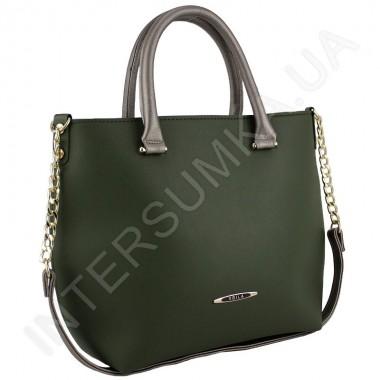 Заказать Сумка женская Voila 52949115 из экокожи зелёная в Intersumka.ua
