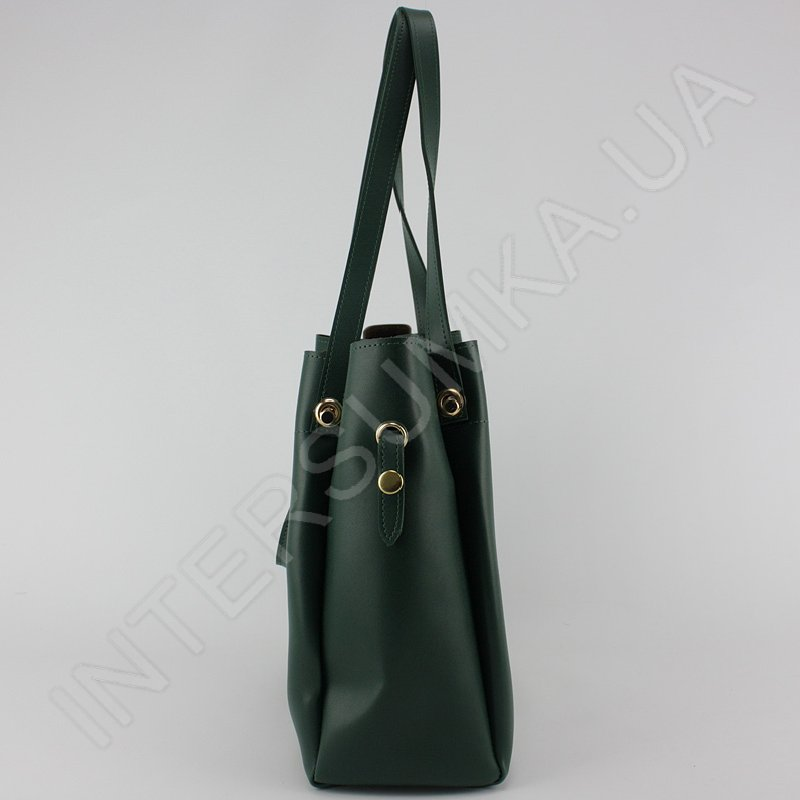 Сумка жіноча фабрична модна Voila 575461 зелена екошкіра недорога ... 4b96bf99dbd82