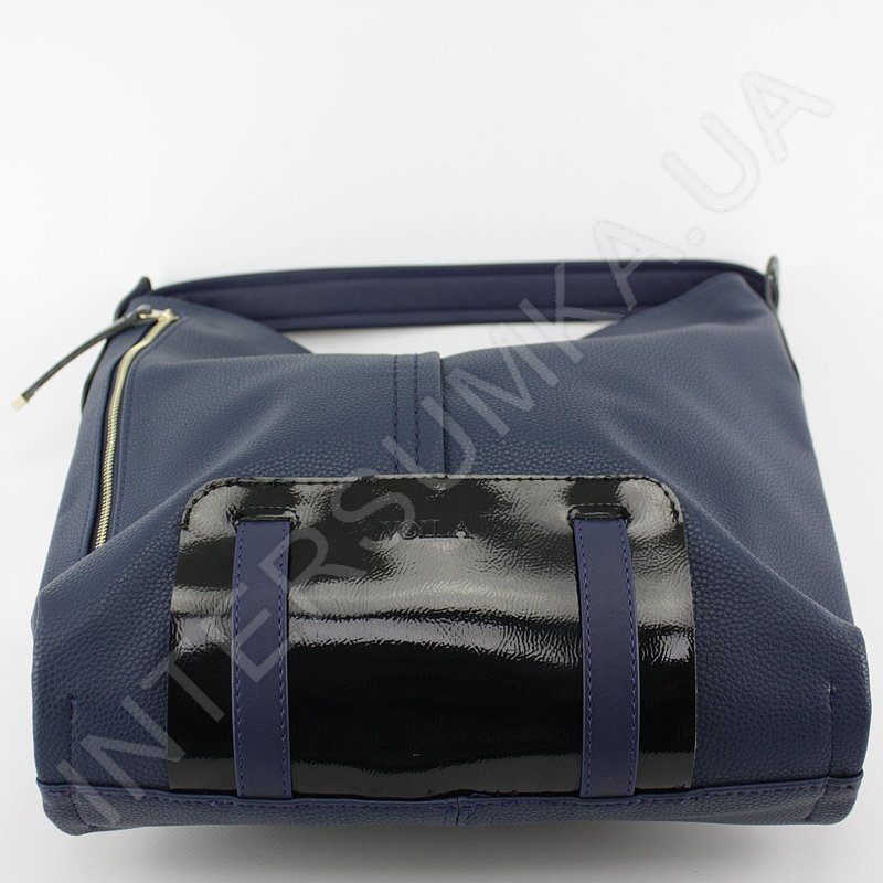 b1428b866c88 Женская сумка Voila 65275181 синяя, мягкая, удобная,большая ...