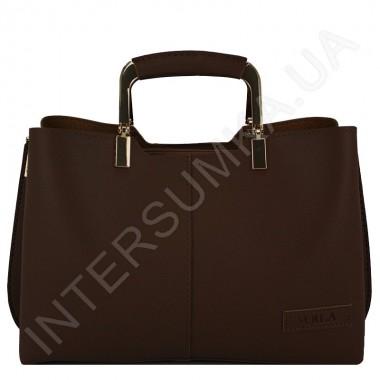 Заказать Сумка женская Voila 583489 коричневая из экокожи в Intersumka.ua