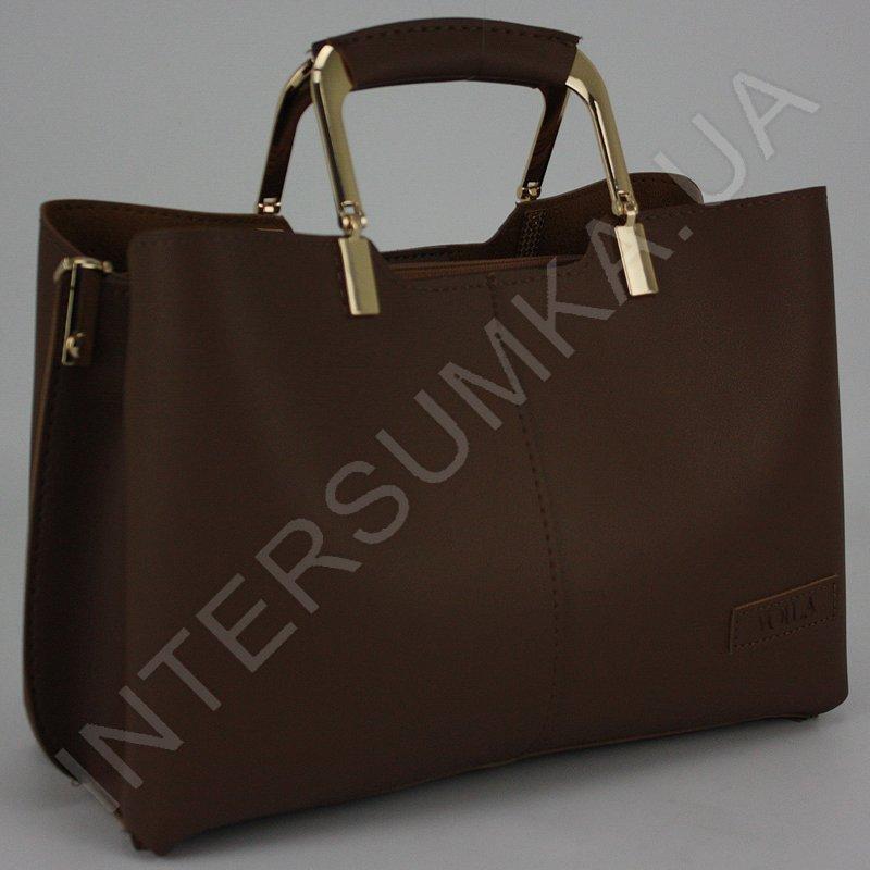 ... Купить Сумка жіноча Voila 583489 коричнева з екошкіри 7e172fb4835c3
