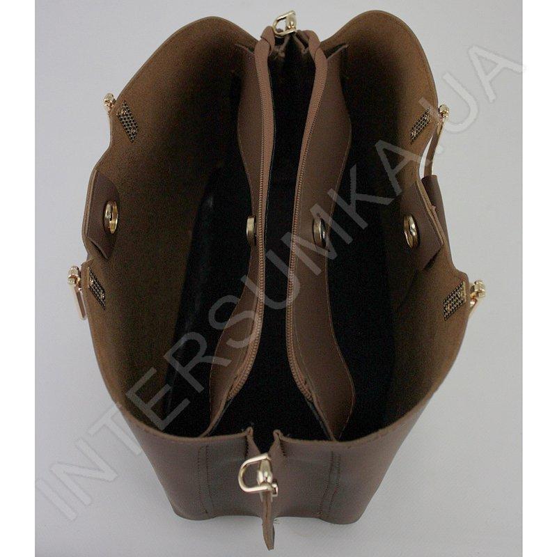 ... Купить Сумка жіноча Voila 583489 коричнева з екошкіри ... 704e524ed00a4