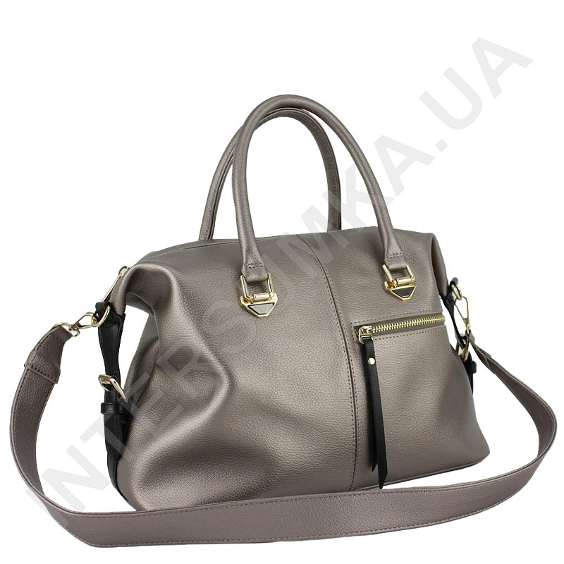 16f340d9813f Женская сумка Voila 50749158, бронзовая с передним карманом ...