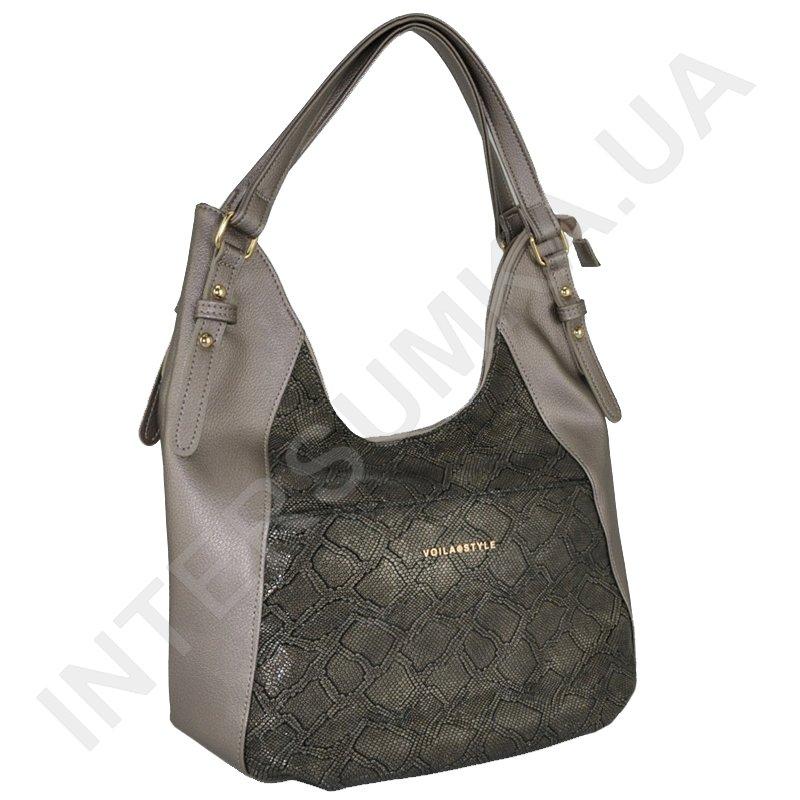 4b9772e34c2c Женская сумка Voila 64115836 бронзовая, мягкая, удобная,большая ...
