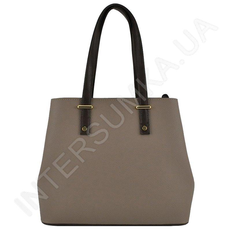 7b23e3ef2fe8 красивая недорогая женская сумка Voila 72531016 из бежевой экокожи ...