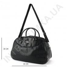 дорожньо - спортивна сумка-саквояж Voila 3141854 чорна