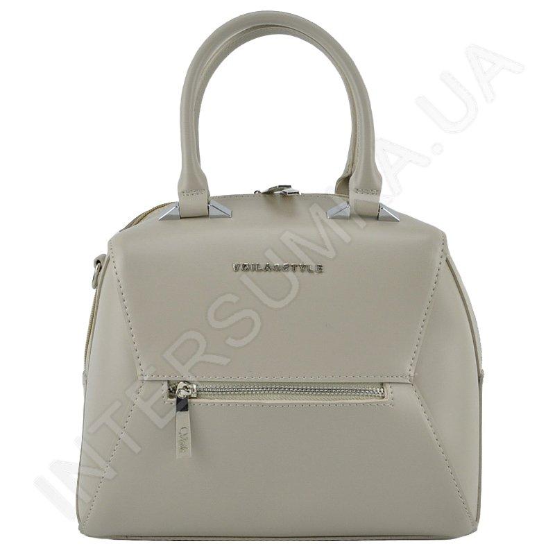 5fc573bf1b34 Женская сумка Voila 7872224 бежевая из экокожи - купить от ...