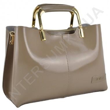 Заказать женскую сумку Voila 58314218 из экокожи в бежевом цвете в Intersumka.ua