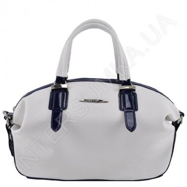 Заказать Сумка женская Voila 75932923 белая с тёмно-синей отделкой в Intersumka.ua
