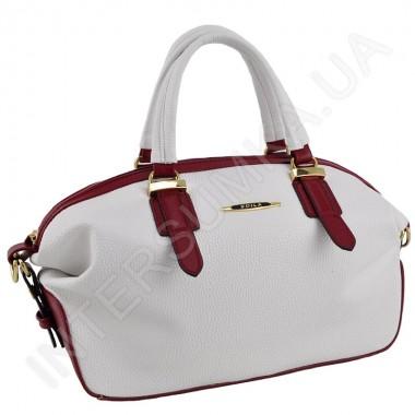 Заказать Сумка женская Voila 759329242 белая с красной отделкой в Intersumka.ua
