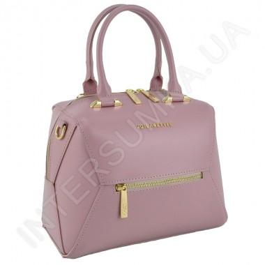 Заказать Сумка женская Voila 787226 из экокожи розового цвета в Intersumka.ua